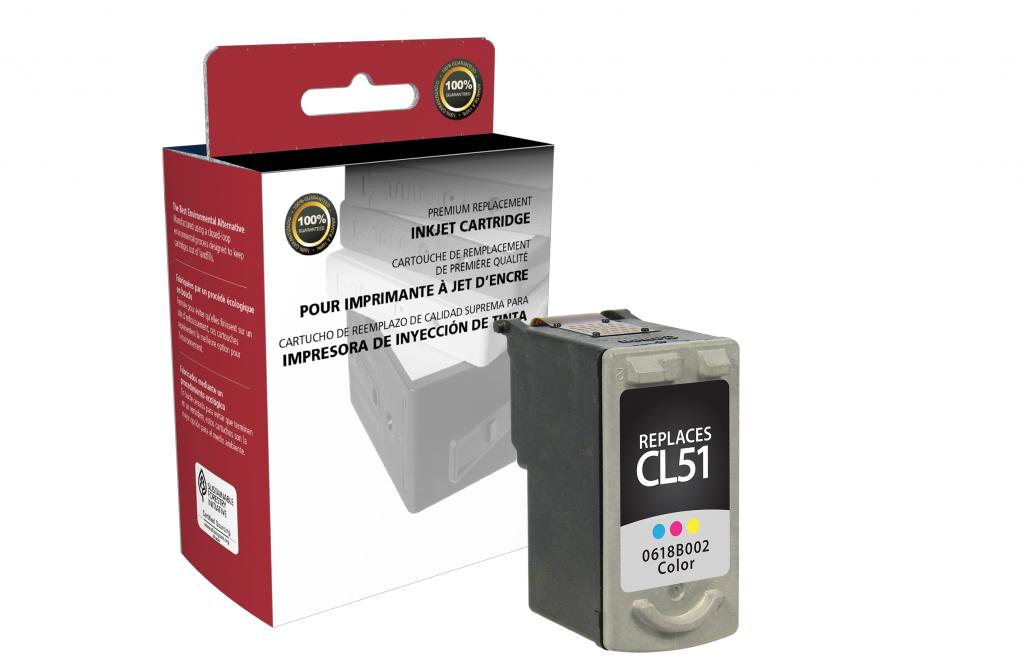 High Yield Color Ink Cartridge for Canon CL-51