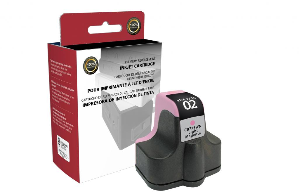 Light Magenta Ink Cartridge for HP C8775WN (HP 02)