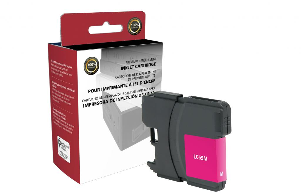 High Yield Magenta Ink Cartridge for Brother LC65