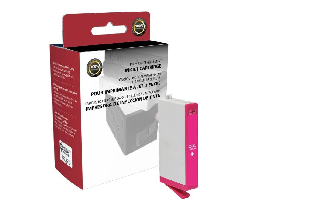 High Yield Magenta Ink Cartridge for HP CD973AN (HP 920XL)