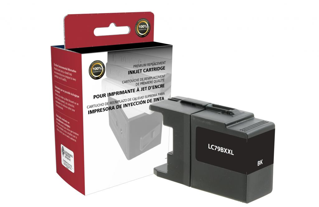 Extra High Yield Black Ink Cartridge for Brother LC79XXL