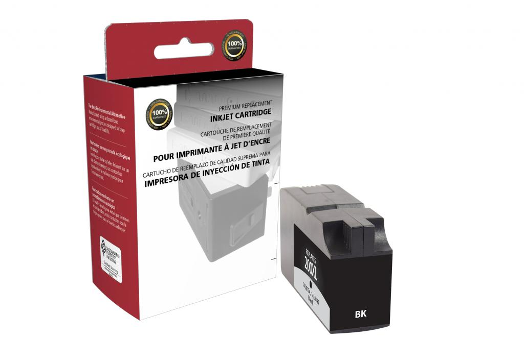 High Yield Black Ink Cartridge for Lexmark #200XL