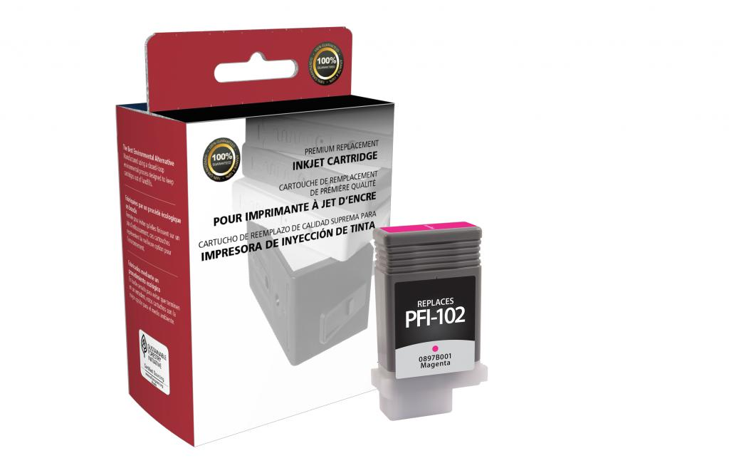 Magenta Ink Cartridge for Canon PFI-102