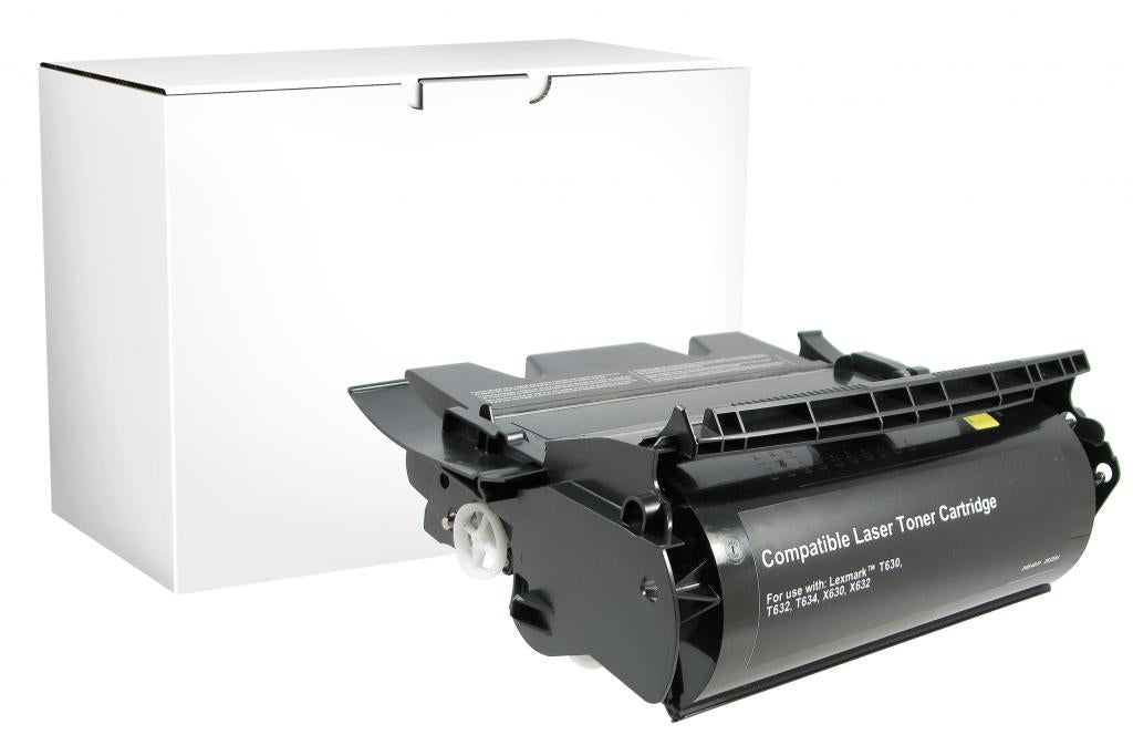 High Yield Toner Cartridge for Lexmark Compliant T630/T632/T634/X632/X634