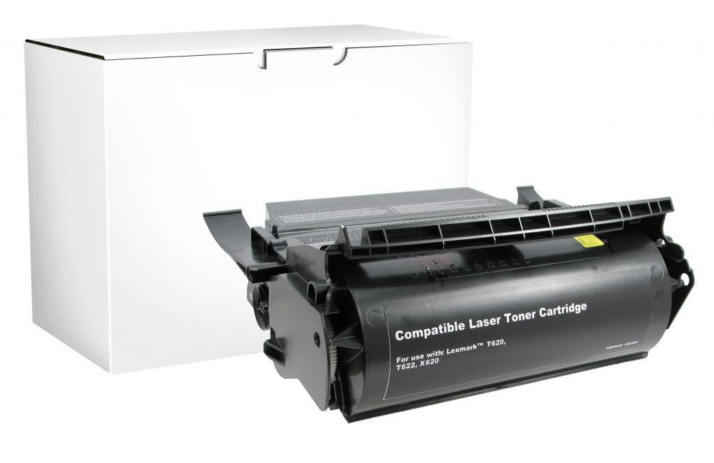 High Yield Toner Cartridge for Lexmark Compliant T620/T622/X620
