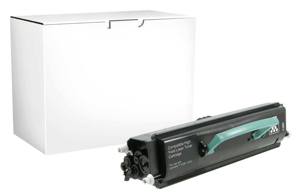 High Yield Toner Cartridge for Lexmark Compliant X340/X342