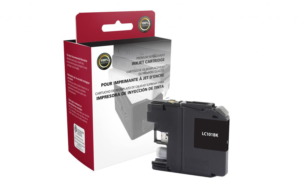 Black Ink Cartridge for Brother LC101