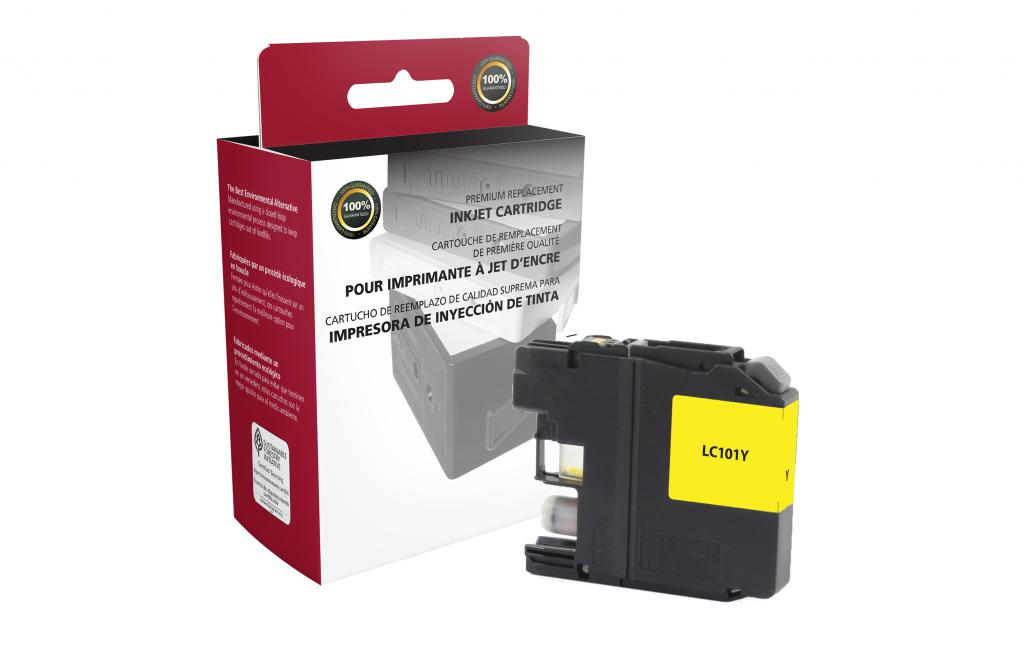 Yellow Ink Cartridge for Brother LC101