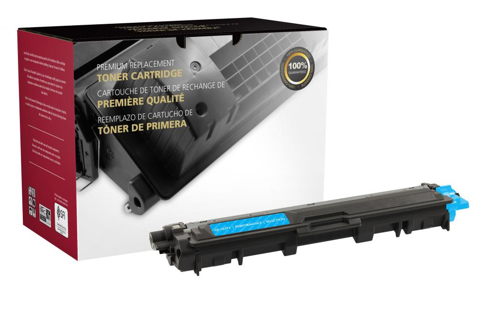 High Yield Cyan Toner Cartridge for Brother TN225