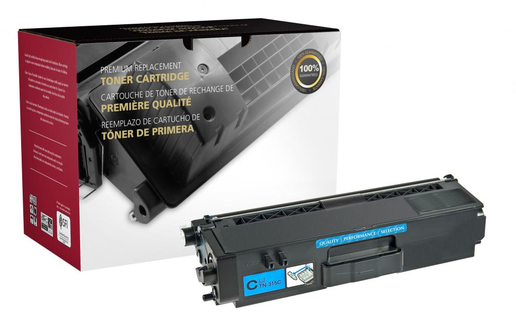 Cyan Toner Cartridge for Brother TN310