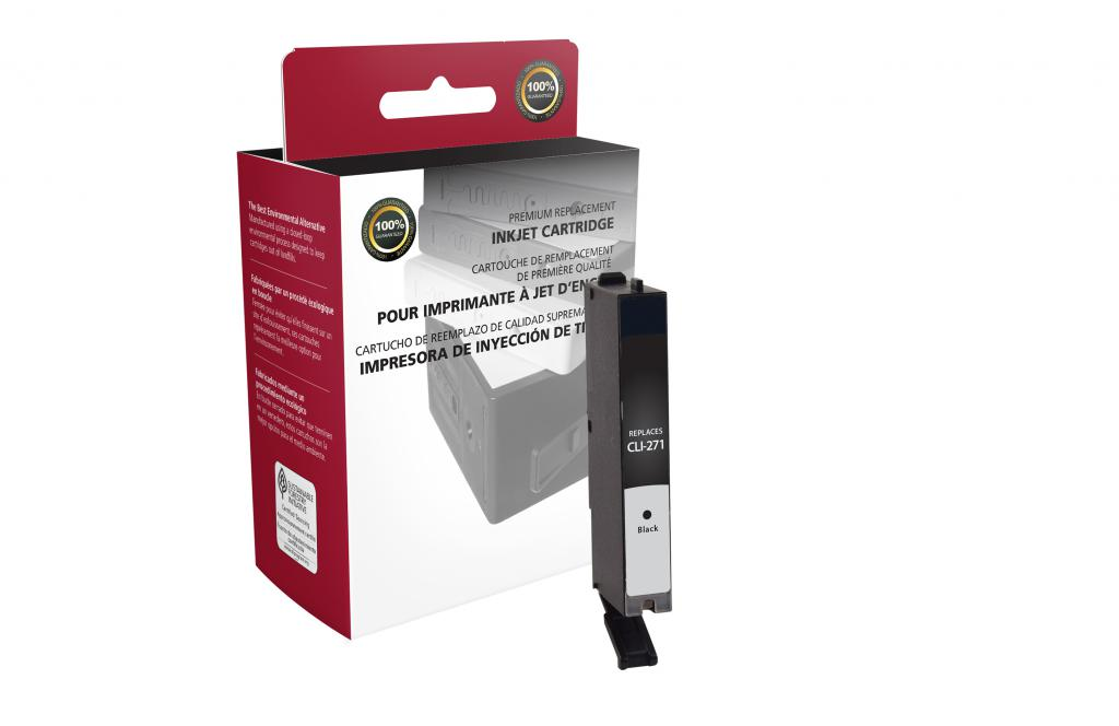 Black Ink Cartridge for Canon CLI-271