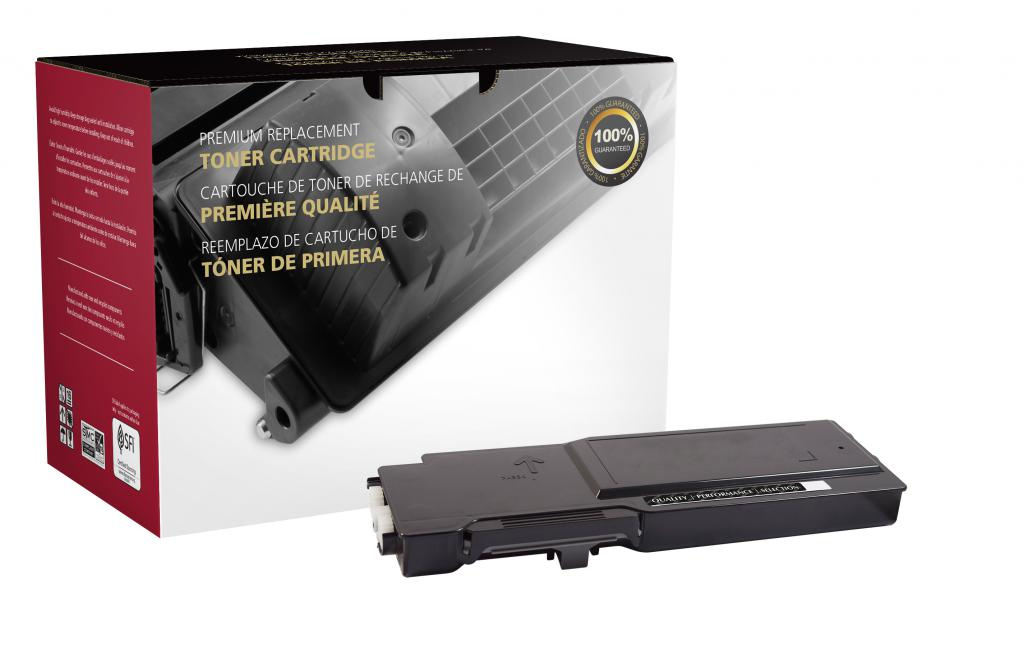 High Yield Black Toner Cartridge for Dell C2660