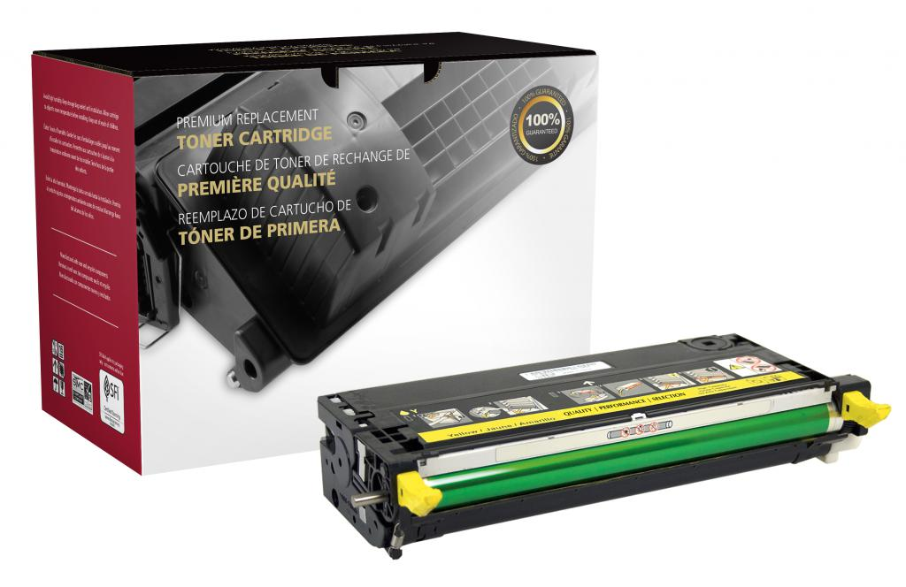 High Yield Yellow Toner Cartridge for Dell 3110/3115