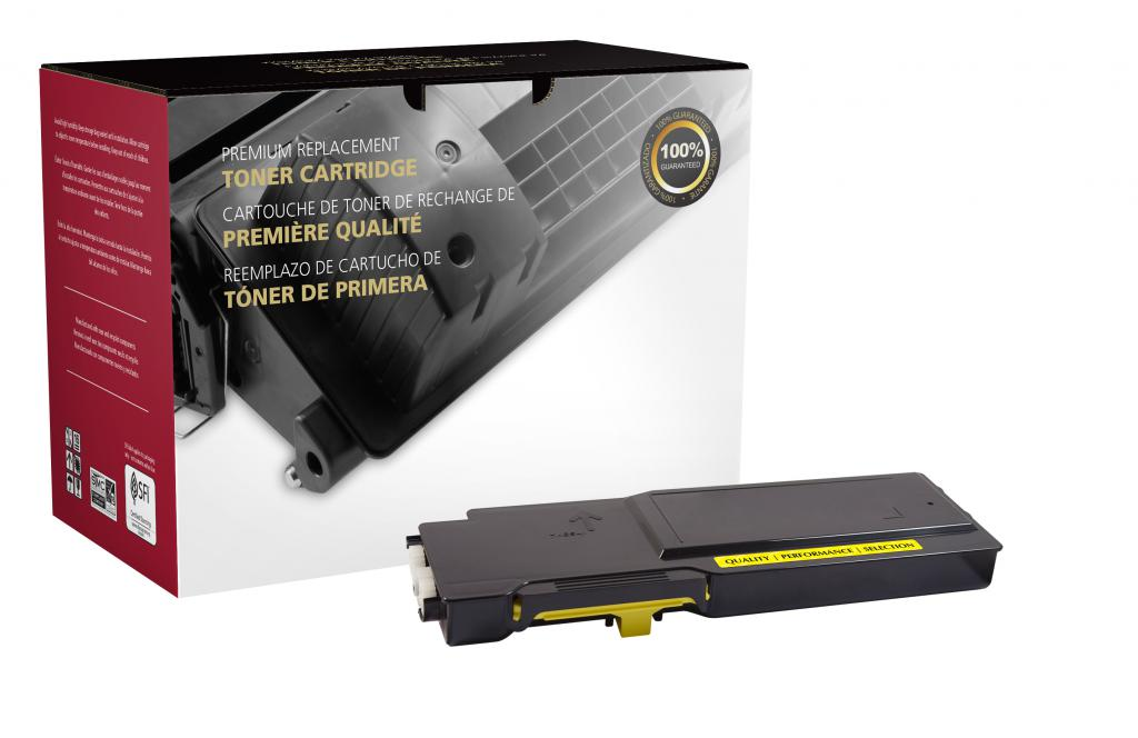 High Yield Yellow Toner Cartridge for Dell C3760