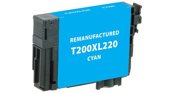 High Yield Cyan Ink Cartridge for Epson T200XL220