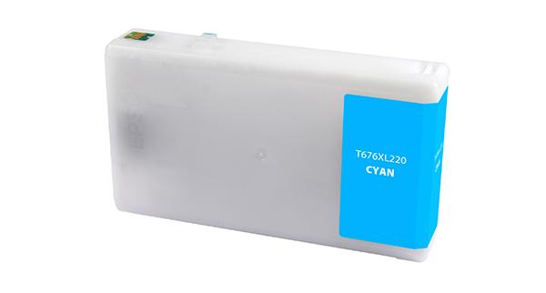 Cyan Ink Cartridge for Epson T676XL220
