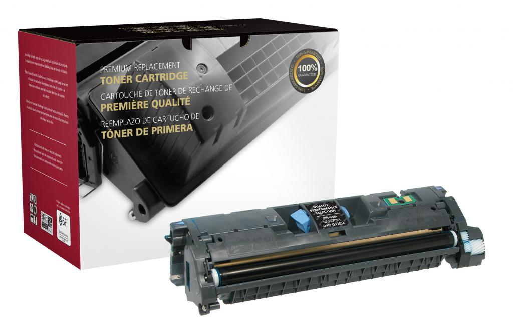Black Toner Cartridge for HP C9700A/Q3960A (HP 121A/122A)