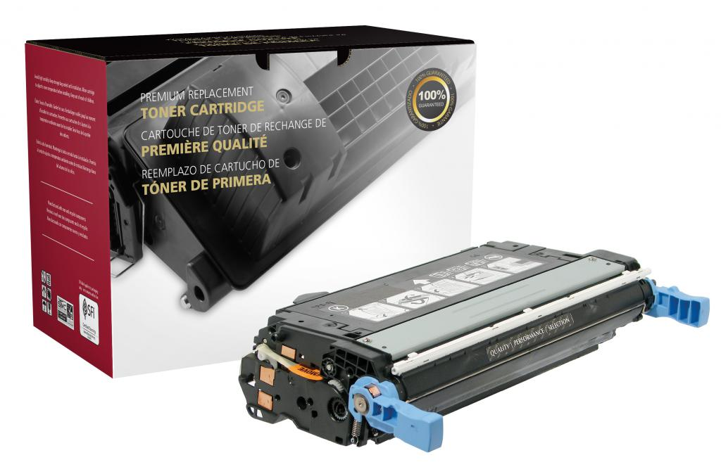 Black Toner Cartridge for HP CB400A (HP 642A)