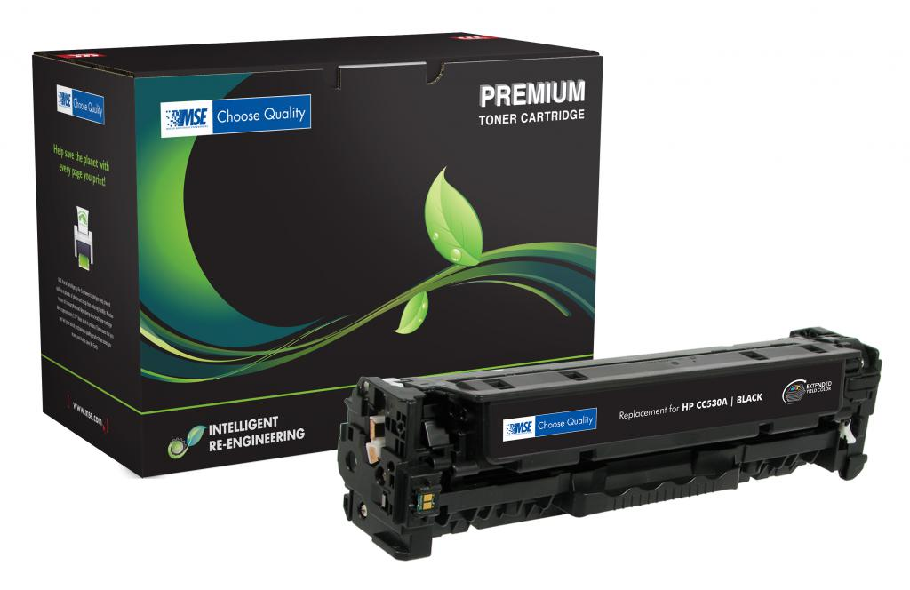 Extended Yield Black Toner Cartridge for HP CC530A (HP 304A)