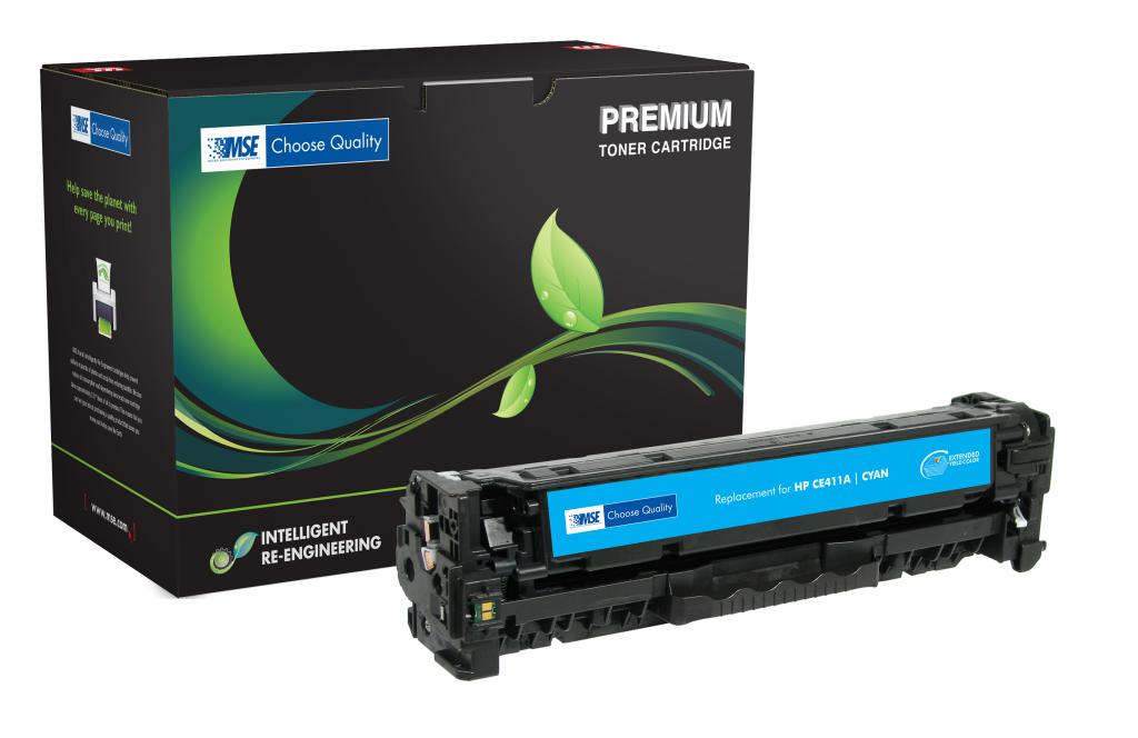 Extended Yield Cyan Toner Cartridge for HP CE411A (HP 305A)