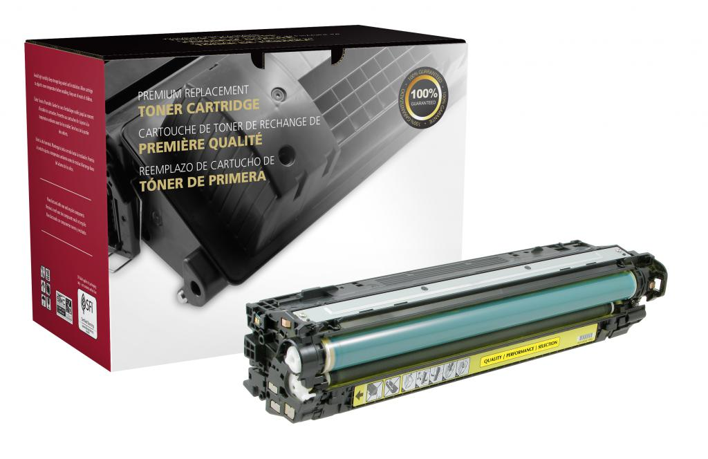 Yellow Toner Cartridge for HP CE742A (HP 307A)