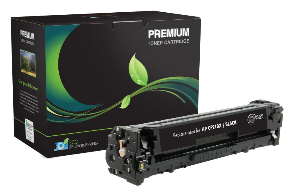 Extended Yield Black Toner Cartridge for HP CF210X (HP 131X)