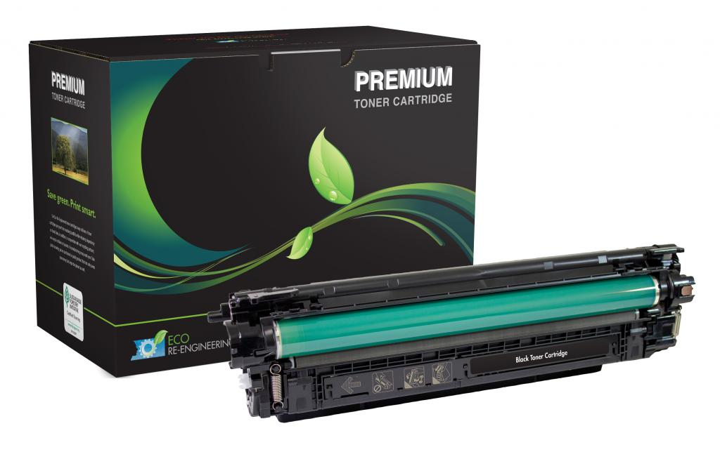 Black Toner Cartridge for HP CF360A (HP 508A)