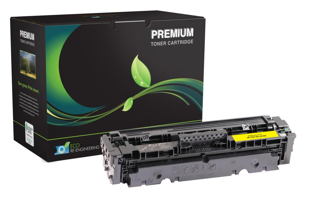 Yellow Toner Cartridge for HP CF412A (HP 410A)