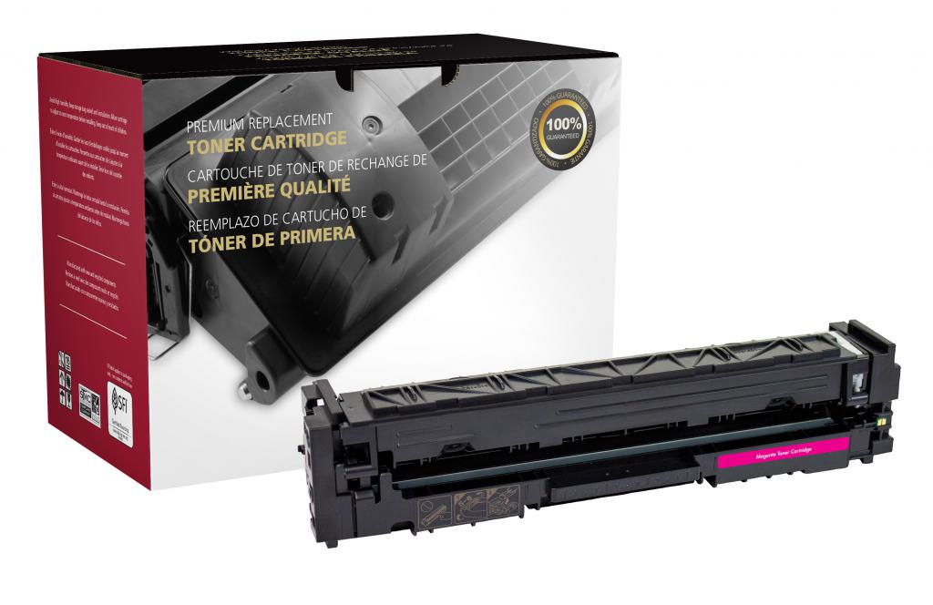 High Yield Magenta Toner Cartridge for HP CF503X (HP 202X)