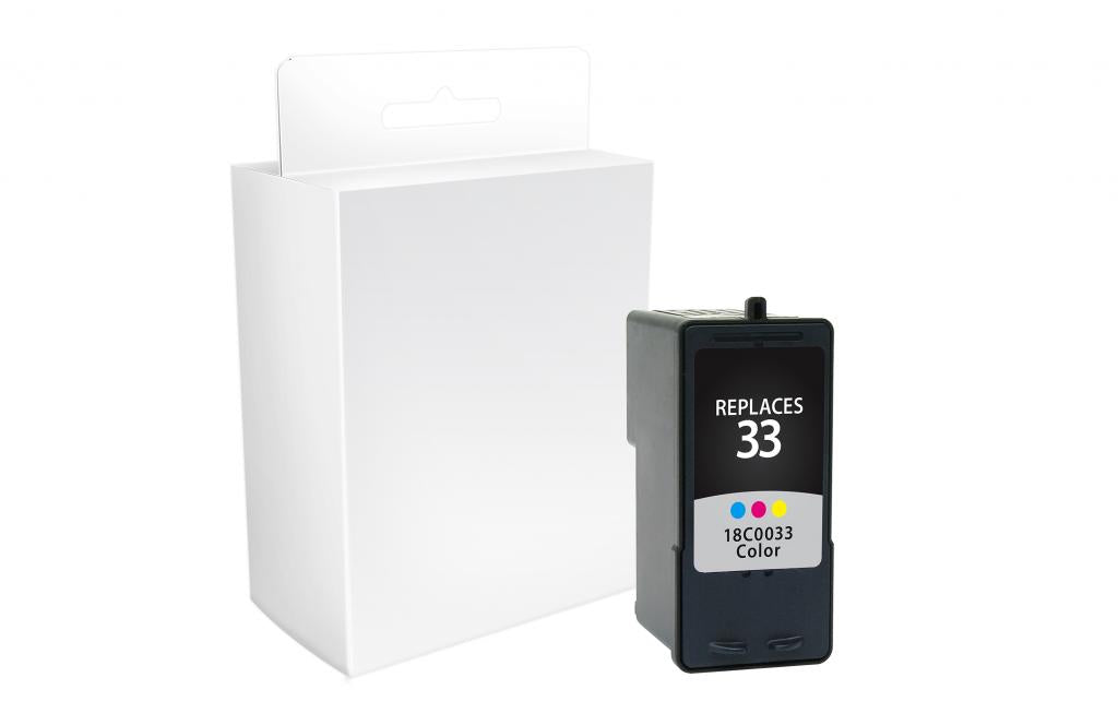 Color Ink Cartridge for Lexmark #33
