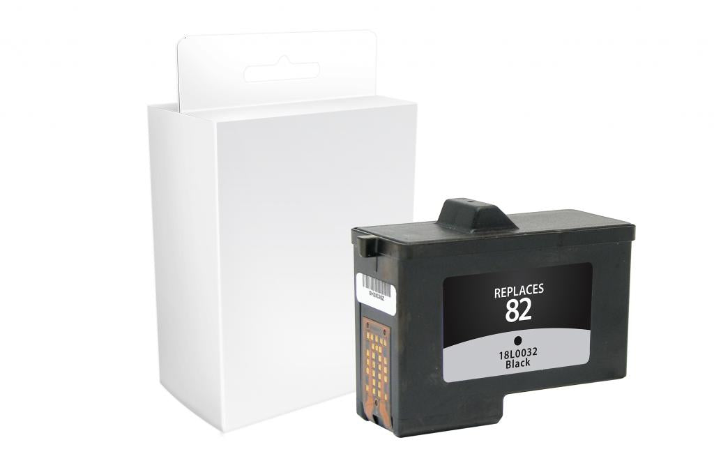 Black Ink Cartridge for Dell Series 2, Lexmark #82