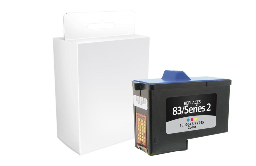 Color Ink Cartridge for Dell Series 2, Lexmark #83