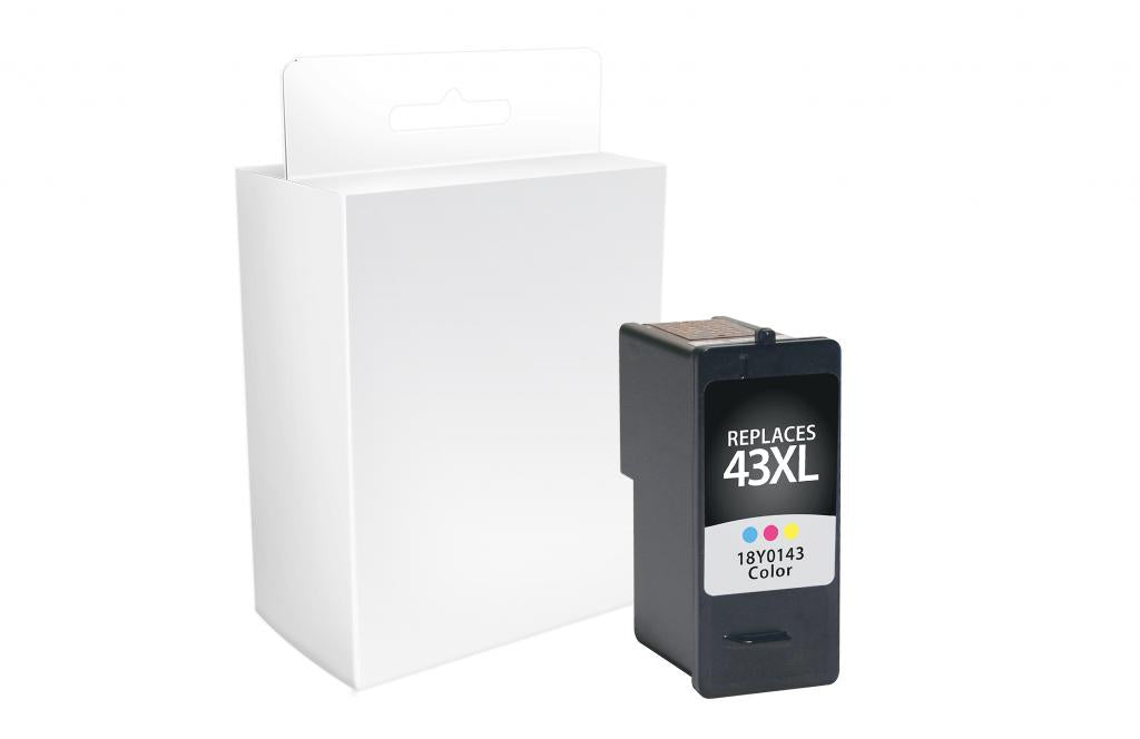 High Yield Color Ink Cartridge for Lexmark #43XL