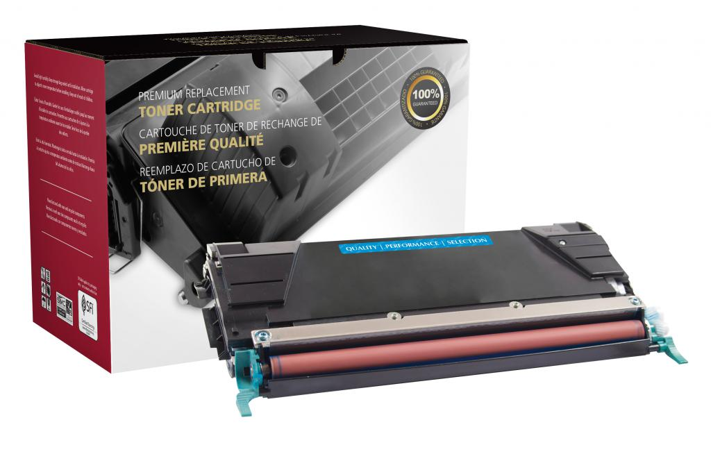 Lexmark C736/X736/X738 High Yield Cyan Toner Cartridge