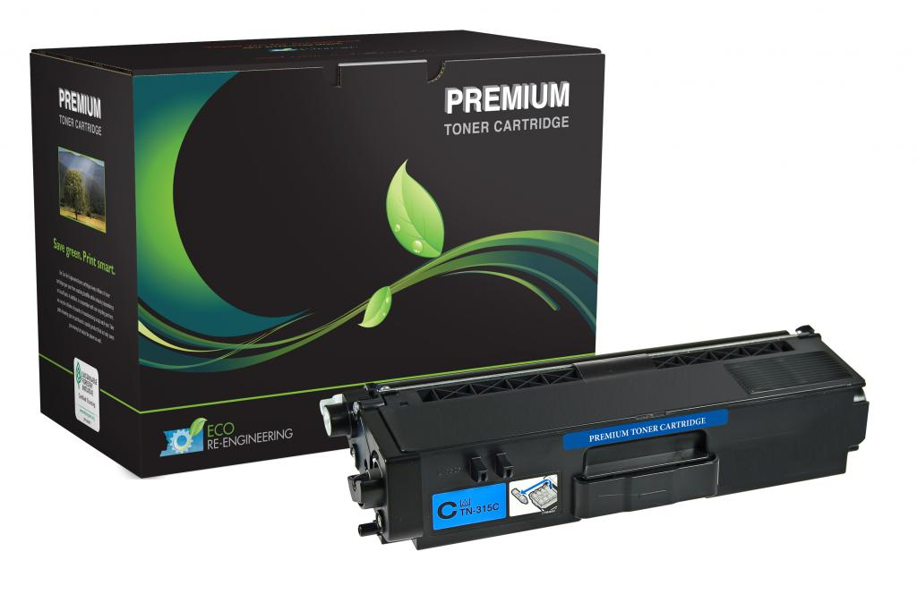 High Yield Cyan Toner Cartridge for Brother TN315