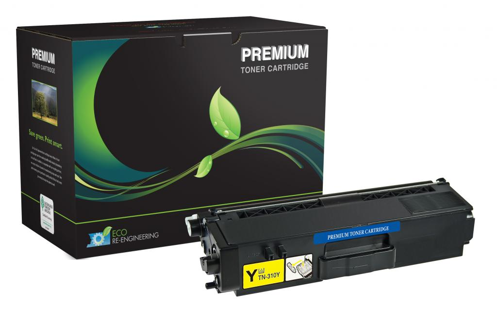 High Yield Yellow Toner Cartridge for Brother TN315