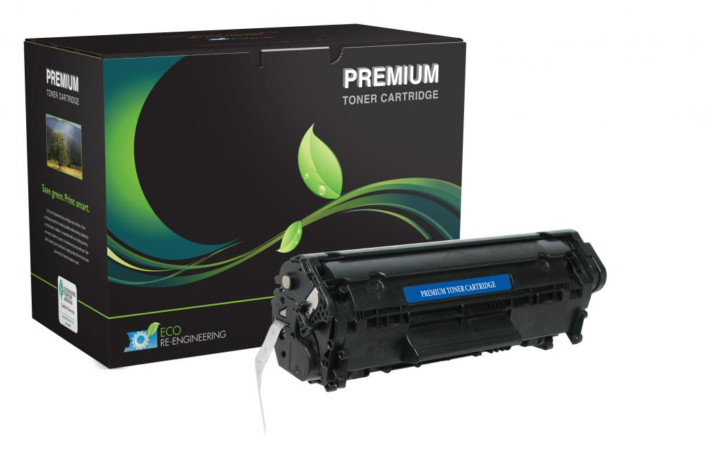 Extended Yield Toner Cartridge for HP Q2612A (HP 12A)