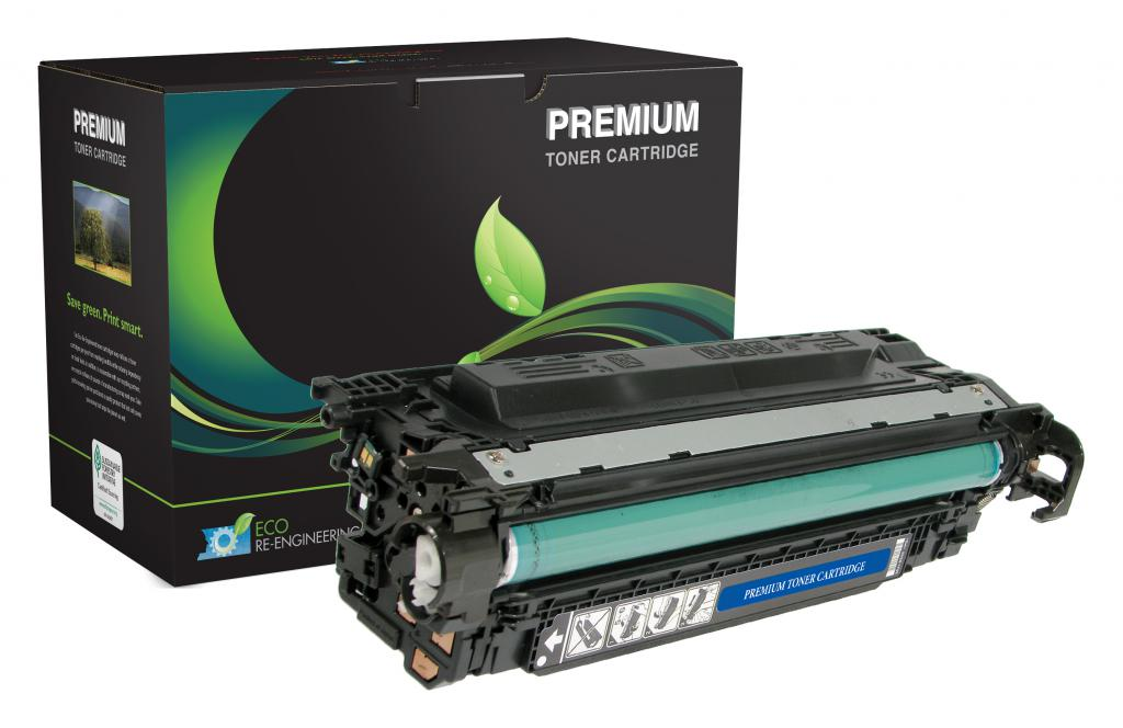 Extended Yield Black Toner Cartridge for HP CE250X (HP 504X)