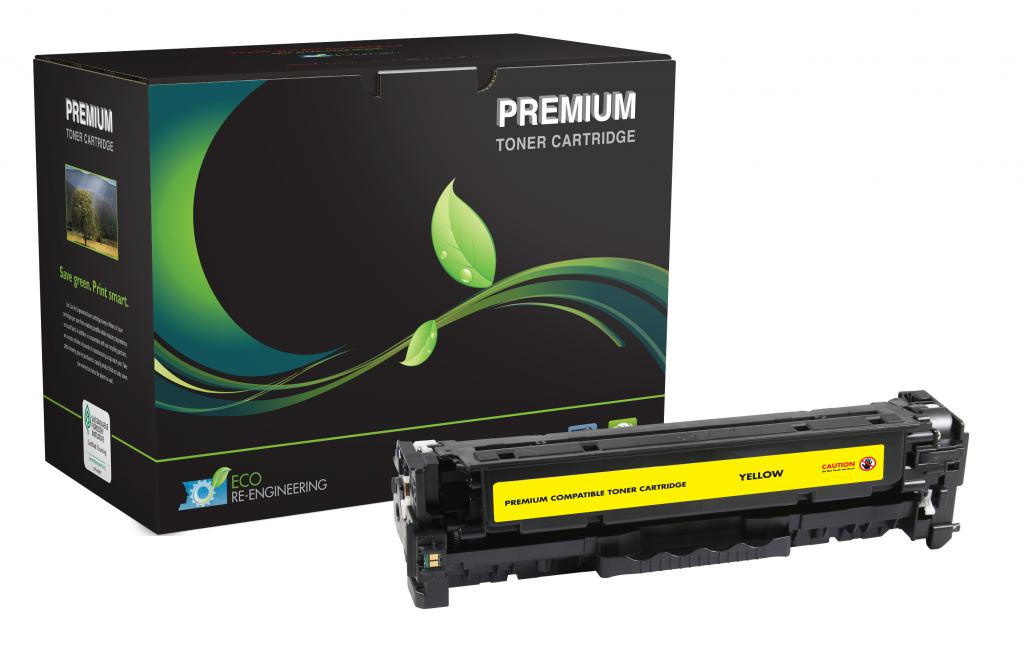 Yellow Toner Cartridge for HP CF382A (HP 312A)