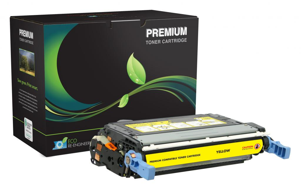 Yellow Toner Cartridge for HP Q6462A (HP 644A)