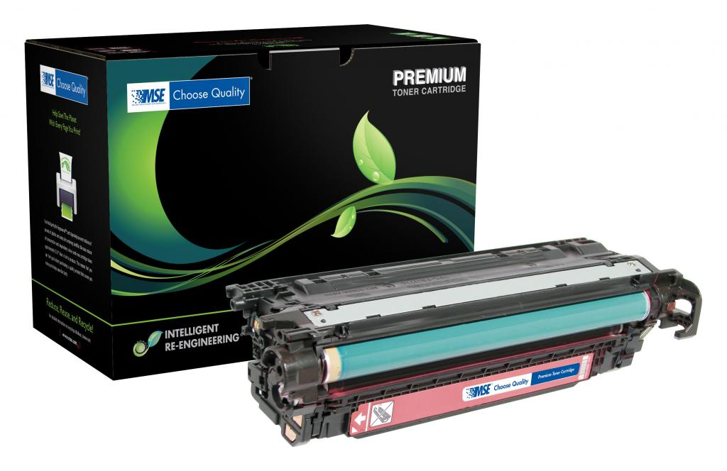 Extended Yield Magenta Toner Cartridge for HP CE403A (HP 507A)