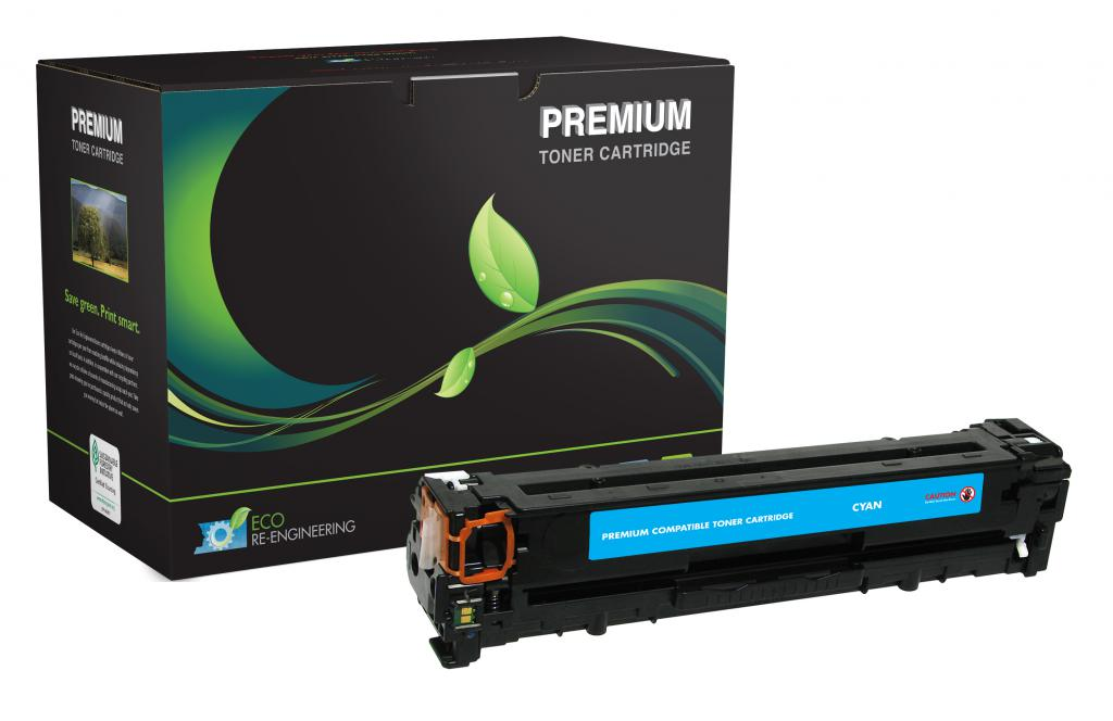 Cyan Toner Cartridge for HP CB541A (HP 125A)