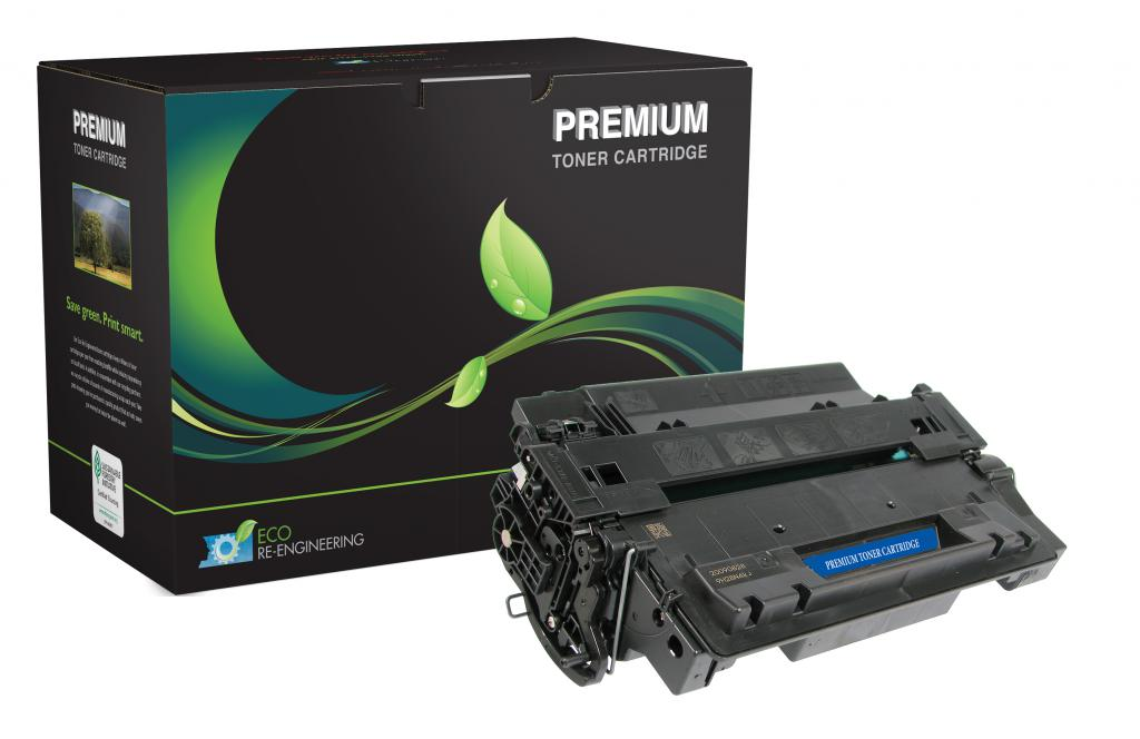 Extended Yield Toner Cartridge for HP CE255X (HP 55X)