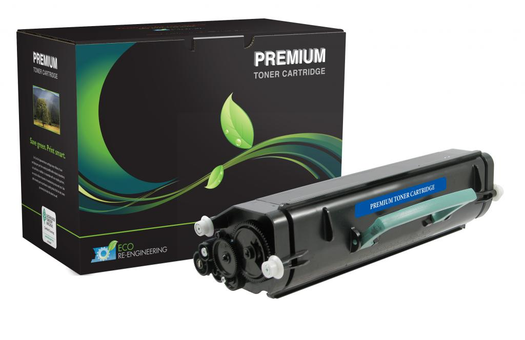 High Yield Universal Toner Cartridge for Lexmark E260/E360/E460/E462; Dell 2330/2350