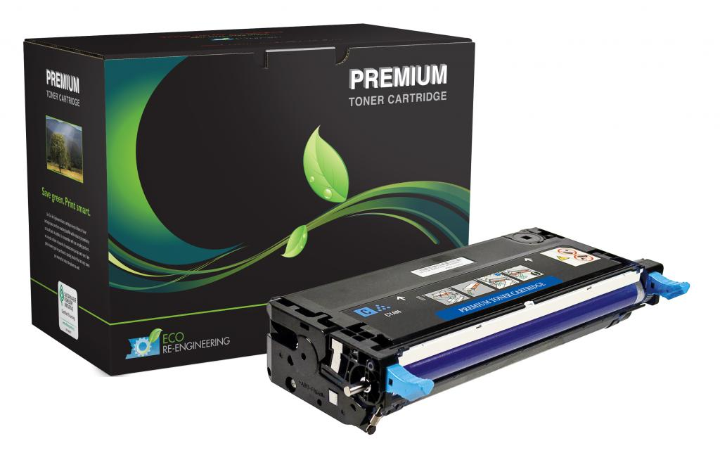 High Yield Cyan Toner Cartridge for Dell 3130