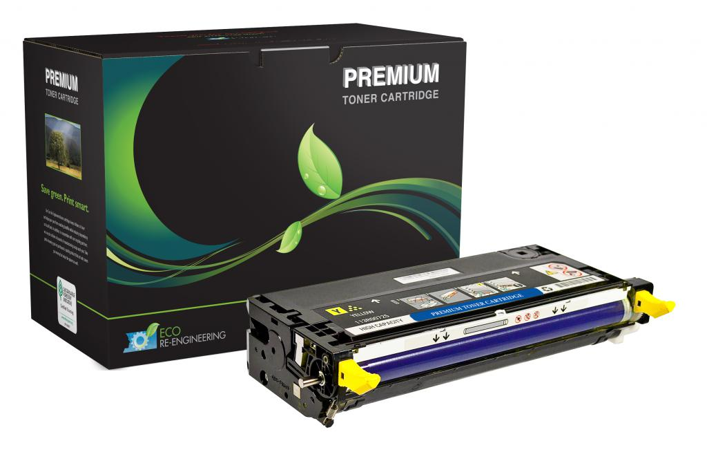 High Yield Yellow Toner Cartridge for Dell 3130