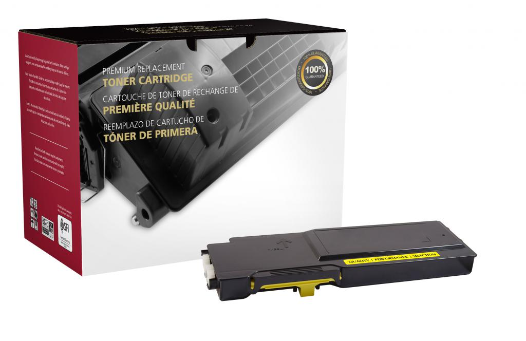 High Yield Yellow Toner Cartridge for Xerox 106R02227
