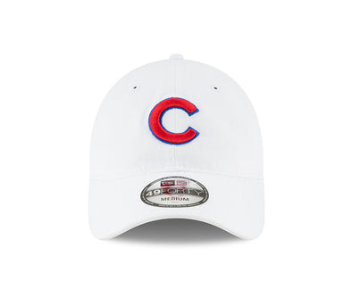 "Chicago Cubs Core Fitted ""C"" Cap, White"