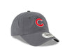 "Chicago Cubs Core Fitted ""C"" Cap, Graphite"