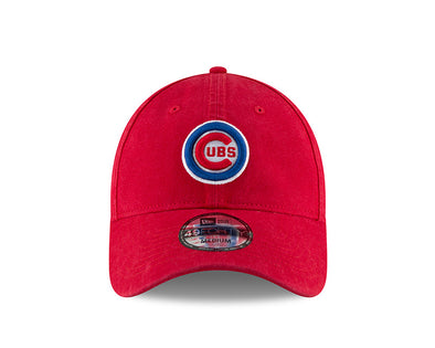 Men's Chicago Cubs Core Fitted Replica Bullseye Cap, 4940 Red